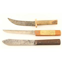 Three 19th-20th Century Knives