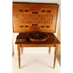 Vintage Mason &Co Roulette Wheel