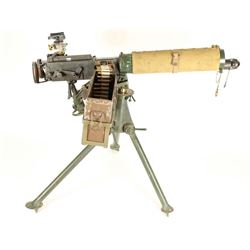 *English Vickers Machine Gun SN: ET82