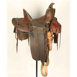 Otto Earnest High Back Saddle
