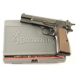 Browning Hi-Power .40 S&W SN: 2W5NV63799