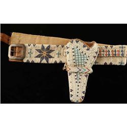 Sioux Beaded Gun Rig