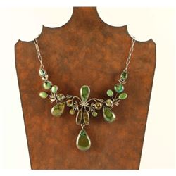 Beautiful Green Turquoise Necklace