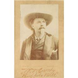 Buffalo Bill Cabinet Photo