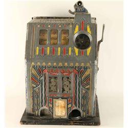 Antique Comet 5 Cent Slot Machine