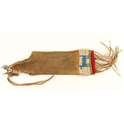 Crow Tobacco Pouch