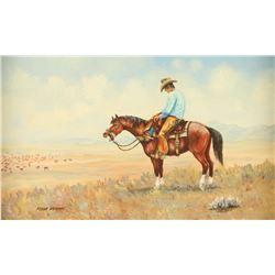 Original Oil on Canvas by Floyd Drown
