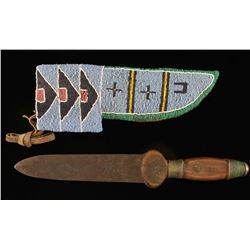 H&C Disston Knife & Sioux Sheath