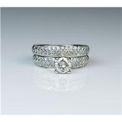 Beautiful Contemporary Diamond Engagement &