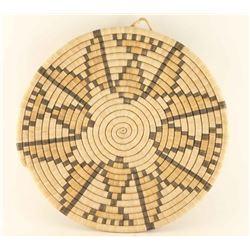 Large Hopi Basketry Tray