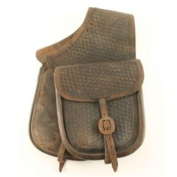 Fred Mueller Tooled Saddle Bags