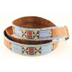 Indian Beaded Belt