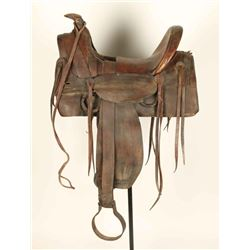 Antique Half Seat Saddle