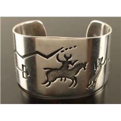 Sterling Silver Cuff by Walt Doran
