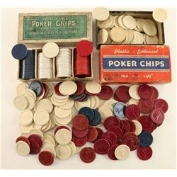 Lot of Vintage Poker chips