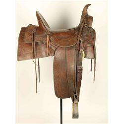 Heiser High Back Single Loop Saddle