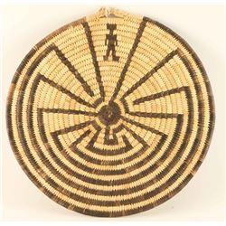 Papago Basketry Tray