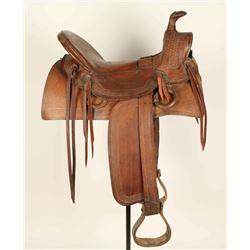 Calgary High Back Saddle