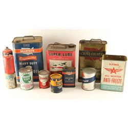 Vintage Oil & Grease Collection
