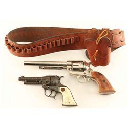 Holster Rig & 2 Toy Guns