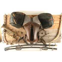 Cavalry Saddle Display