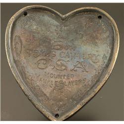 Texas 5th Cavalry Heart