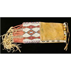 Cheyenne Beaded Pipe Bag