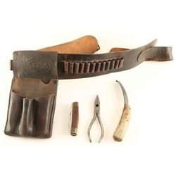JW Gibson Cartridge Belt & Fence Tools