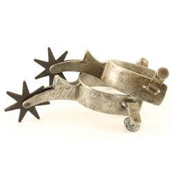 Star Steel Spurs