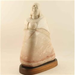 Alabaster Sculpture by Earl Eder