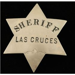 Old West Las Cruses New Mexico Sheriff