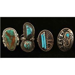 4 Navajo Rings