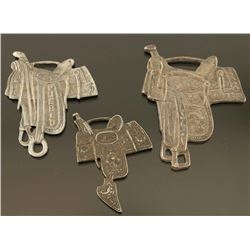 3 Saddle Watch Fobs