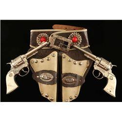 """Hubley """"Western"""" Cap Gun Set"""