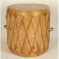 Taos Indian Drum