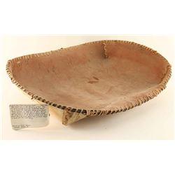 Chippewa Birch Winnowing Basket