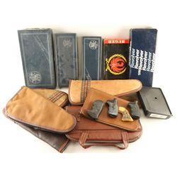 Large Lot of Handgun Rugs & Boxes