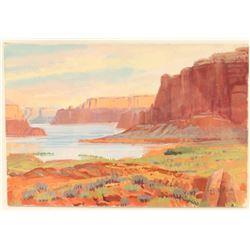 Original Watercolor on Posterboard