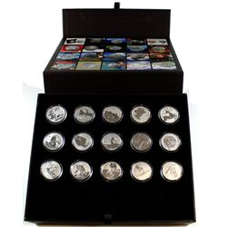 2011-2015 Canada $20 For $20 Collectors set in Display Case (Tax Exempt). You will receive 2011 Five