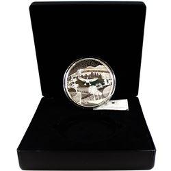 2009 Canada Olympic Games - Modern Canada Fine Silver Kilo (Tax Exempt).