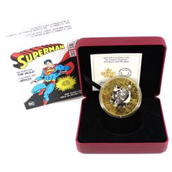 2017 Canada $50 DC Comics Originals - Brave & the Bold 3oz. Gold Plated Silver (Tax Exempt)
