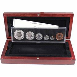 2011 Canada 1911 Silver Dollar Centennial Special Edition 6-coin Proof Set. Please note 5-cent coin