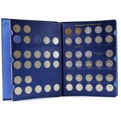 Estate Lot 1922-1967 Canada 5-cent Collection in Blue Whitman Folder. You will receive each date rel