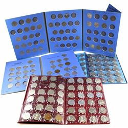 Estate Lot 1922-1998 Canada 5-cent Collection in Display Albums. You will receive 184 coins dated be