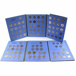 Estate Lot 1922-2010 Canada 5-cent Collection in Whitman Folders. You will receive each date release