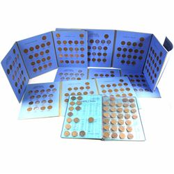 Estate Lot 1920-1980 Canada 1-cent Collection in Blue Whitman Folders. You will receive a total of 2