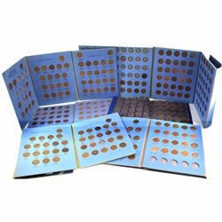 Estate Lot 1920-2012 Canada 1-cent Collection in Folders. You will receive a total of 292 coins date