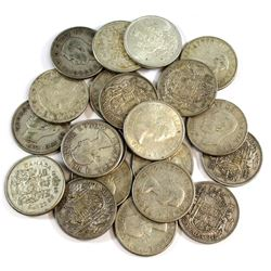 Estate Lot 1940-1966 Canada Silver 50-cent Collection. You will receive one of each date from 1940 t
