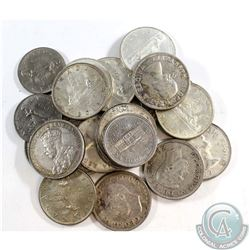 Estate Lot 1936-1978 Canada Dollar Collection. You will receive 19 Different Dates from 1936 to 1966