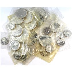 Estate Lot 1961-1967 Canada Silver Proof Like Collection. You will receive 13x 10-cent, 4x 25-cent,